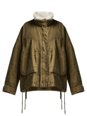 jacket,cotton,khaki