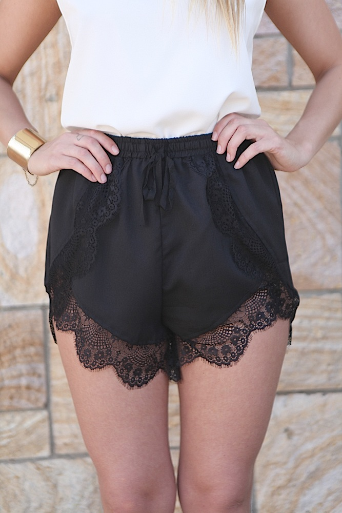 Shop for BLACK M Lace Trim Denim Shorts online at $ and discover fashion at coolnup03t.gq Cheapest and Latest women & men fashion site including categories such as dresses, shoes, bags and jewelry with free shipping all over the world.