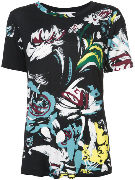 Prabal Gurung t-shirt shirt t-shirt short women black top