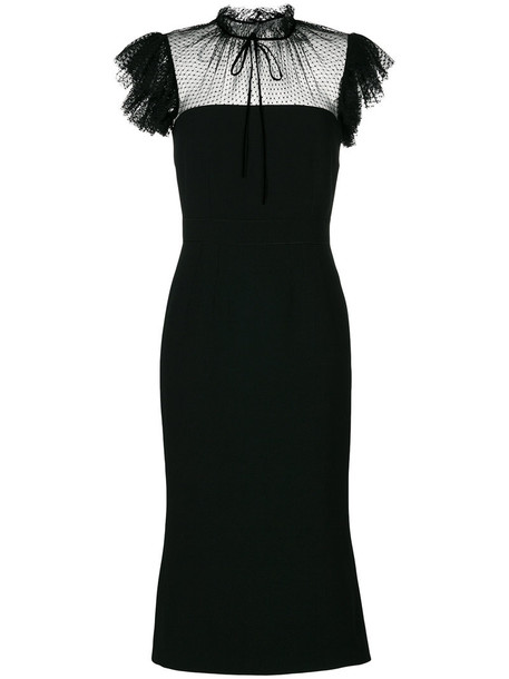 Dolce & Gabbana dress women black silk
