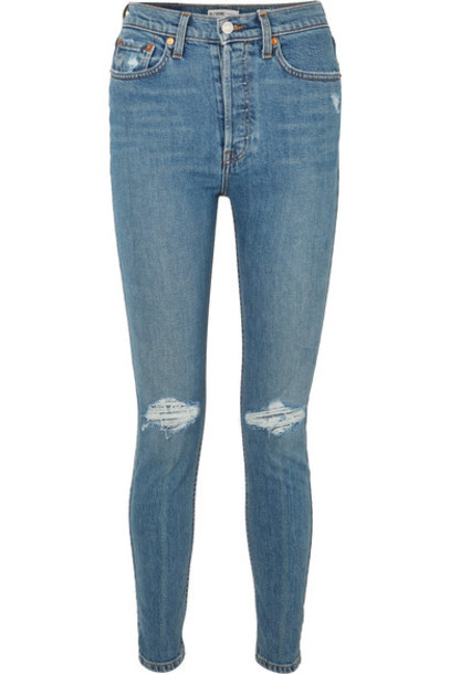 Re/Done jeans skinny jeans denim high