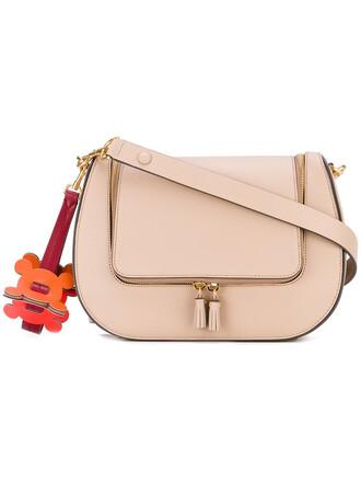 women bag shoulder bag leather nude