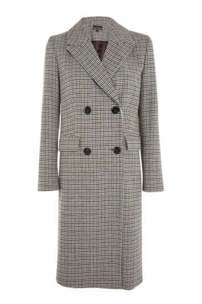 Topshop overcoat camel coat