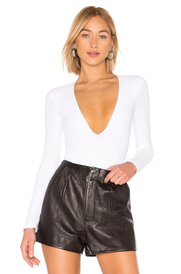 Alix Irving Bodysuit in white