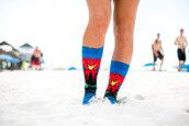 socks,fashion,dope,volcano,magma,cute socks,Odd Sox,trendy,knitted socks,socks and sandals