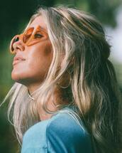 sunglasses,orange sunglasses