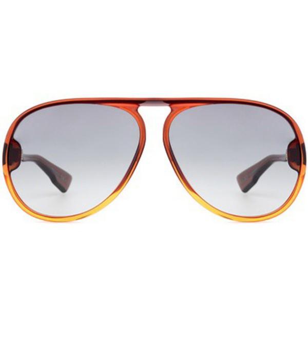 Dior Sunglasses Lia aviator sunglasses in brown
