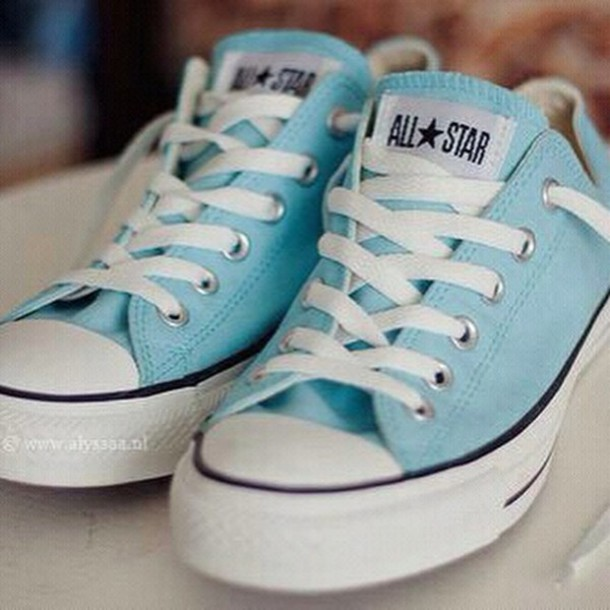 335345b70fe shoes blue sneakers converse chuck taylor all stars pastel blue mint