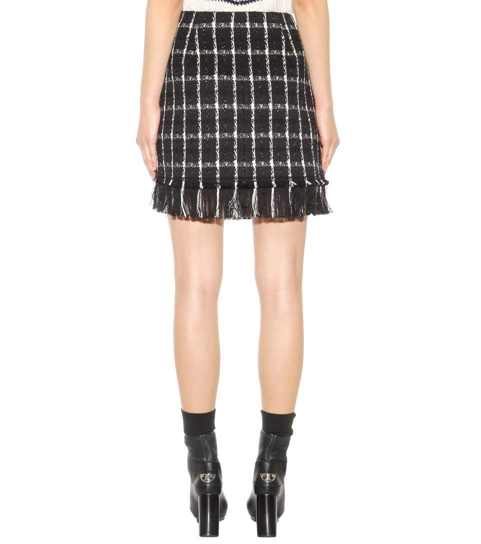 Marisol cotton-blend skirt
