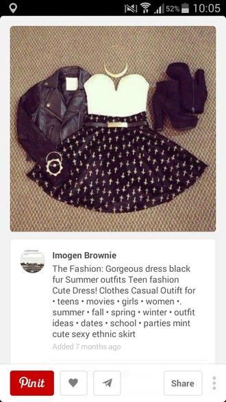 dress black and white dress strapless dress