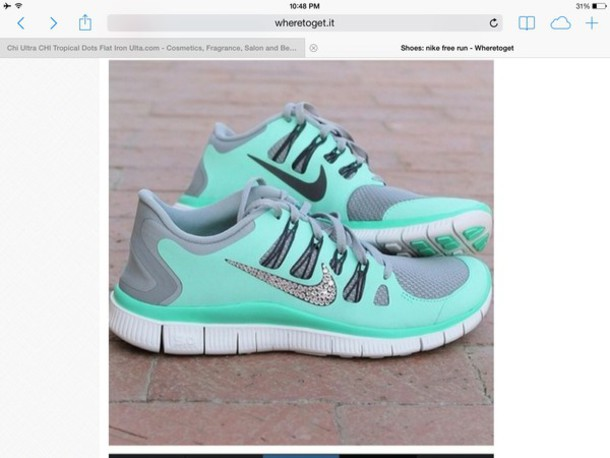 Glitter Nike Free 5.0 Shoes  509bfe43182c