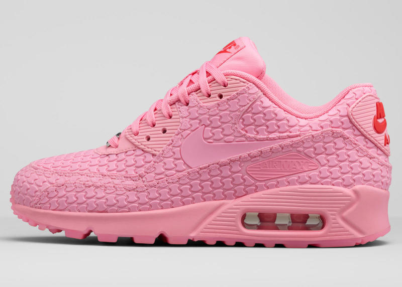 nike air max 90 pink black and white cupcakes