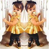 shirt,gold,blouse,flats,todler,cute,peplum,shoes,hat,jeans,toddler