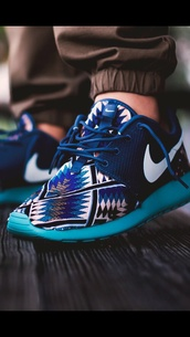 shoes,tribal pattern,nike sneakers,nike,nike shoes,nike running shoes,nike roshe run,blue shoes,aztec,bright sneakers,sports shoes,nike ridge aztec blue,aztec shoes,roshe runs,womens nike shoes roshe runs,nike roshe run running shoes,royal blue and navy,nike shoes womens roshe runs