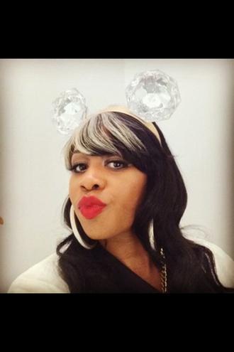 hair accessory headband mickey mouse jewels