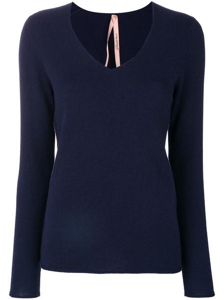 Marc Cain sweater women blue
