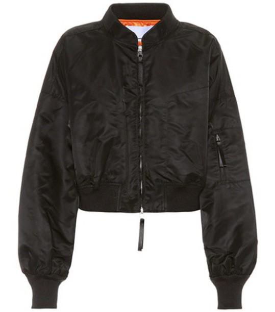 jacket zip black
