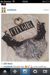 shoes,lace,laces,straps,black,heels,t-shirt