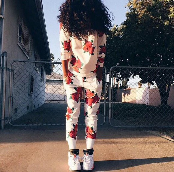 floral shorts floral jumpsuit floral top floral shirt