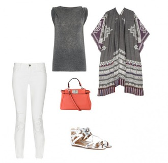 helena bordon blogger shirt coat jeans shoes bag