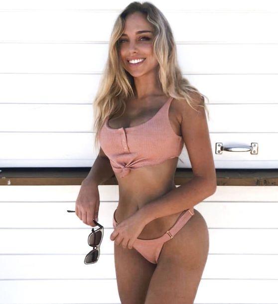 swimwear pink swimwear