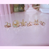 jewels,earings,earing set,earrings,ear cuff