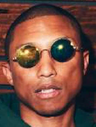 sunglasses pharrell williams shades round sunglasses fashion style streetwear streetstyle menswear mens accessories cool accessories celebrity style