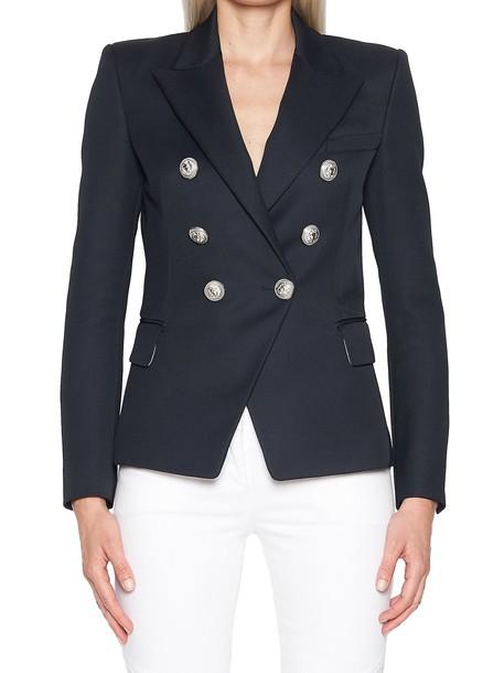 Balmain jacket blue
