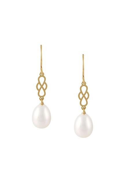 pearl earrings women pearl earrings gold silver white grey metallic jewels