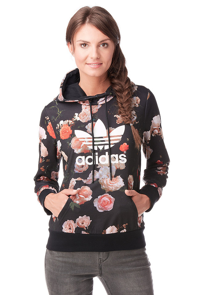 adidas originals logo ao hoodie kapuzensweatshirt otto. Black Bedroom Furniture Sets. Home Design Ideas