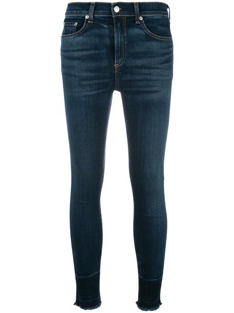 Rag & Bone /Jean jeans skinny jeans women cotton blue