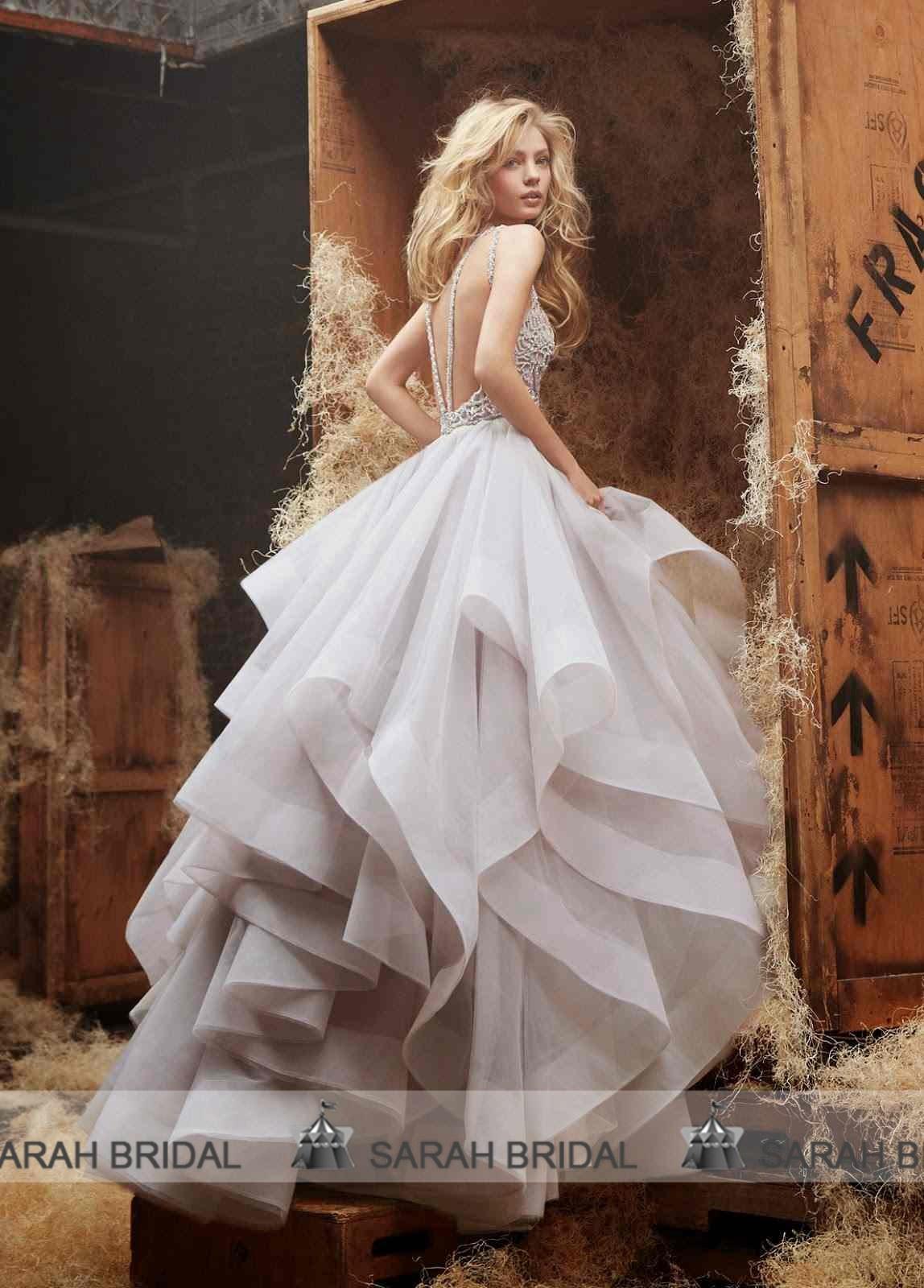 Buy sexy backless wedding dresses 2015 a line beads jewel neckline floor length bridal gown organza sleeveless bride dress custom made, $172.69