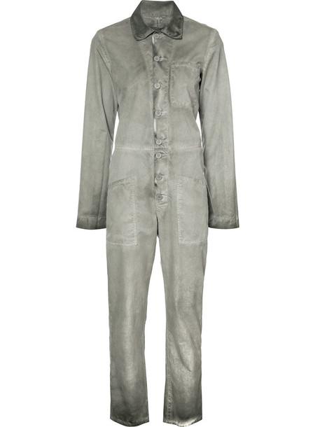 rta jumpsuit women cotton grey