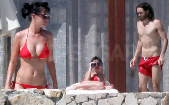 katy perry swimwear red bikini