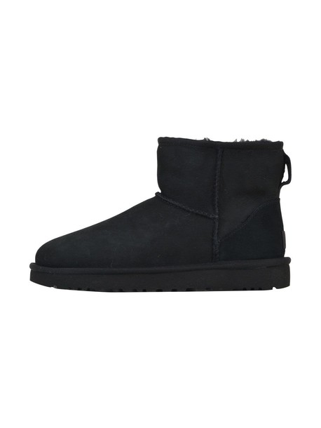 Ugg mini classic ankle boots black shoes