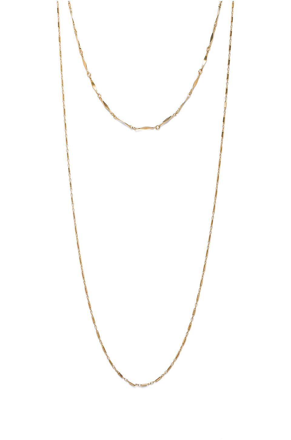 Jennifer Zeuner Asturia Double Necklace in Yellow from REVOLVEclothing.com