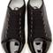 Lanvin - black matte & patent sneakers