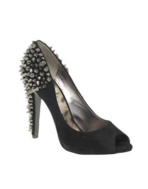 Chaussures ã talons avec clous et strass chez asos