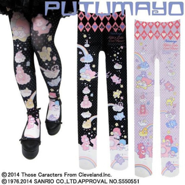 tights kawaii dope style pastel