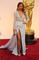 Sleeve prom gown celebrity dress oscars 2105 red carpet