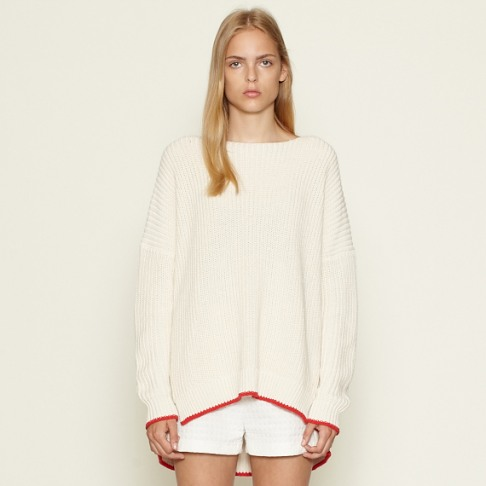Wood Wood Celesse sweater Eggnog red - Wood Wood