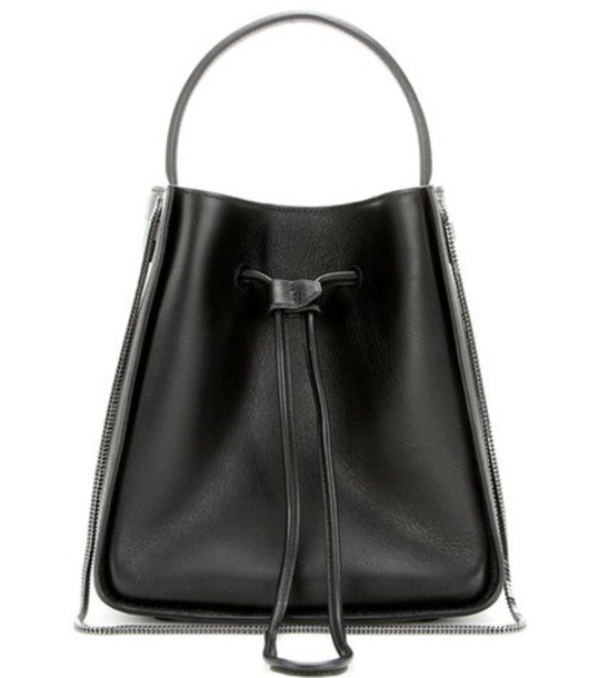 3.1 Phillip Lim bag bucket bag leather black