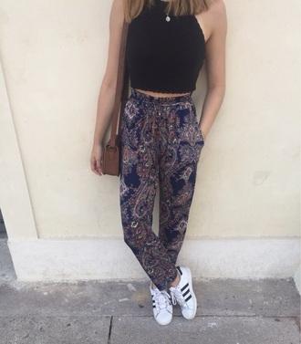 pants blue nice beautiful