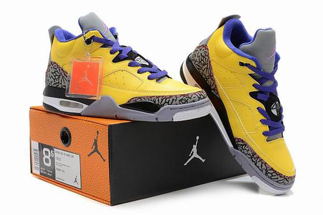 Nike Air Jordan Son of Mars Low Tour Yellow Men's Shoes