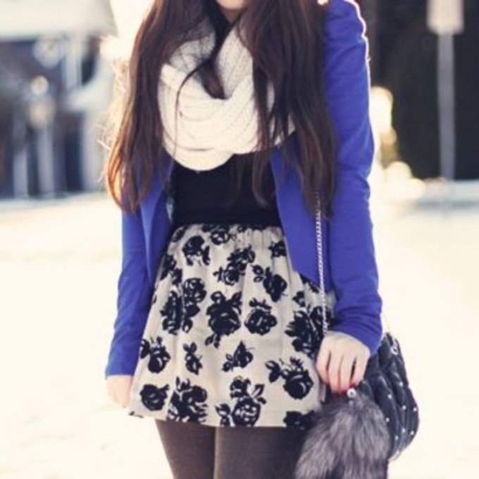 Winter Outfits With Skater Skirts Skirt White Winter Outfits