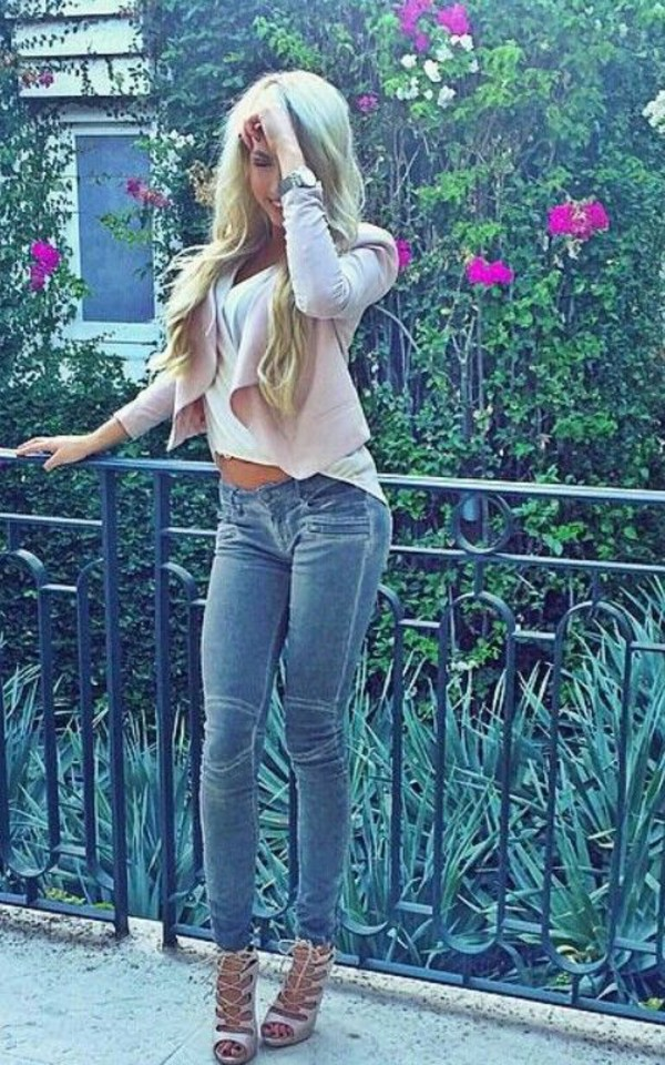 Hot Blonde Jeans 79