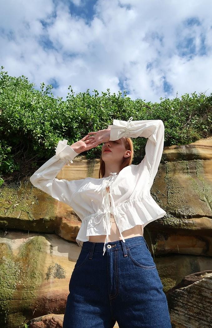 Selma Shirt - Ivory