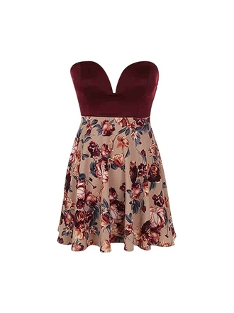 dress floral dress cute floral dress floral cute red red dress