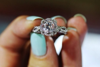 jewels ring diamonds wedding proposal jewelry stylish princess gorgeous wedding ring flowers engagement ring diamond ring silver ring sparkle marriage tiffany&co nail accessories jewelry rings silver white gold chic elegant circle found it in pinterest this shape the bling ring tiffany & co. engagementring tiffany engagement ring flower cut square cut hand jewelry gemstone ring