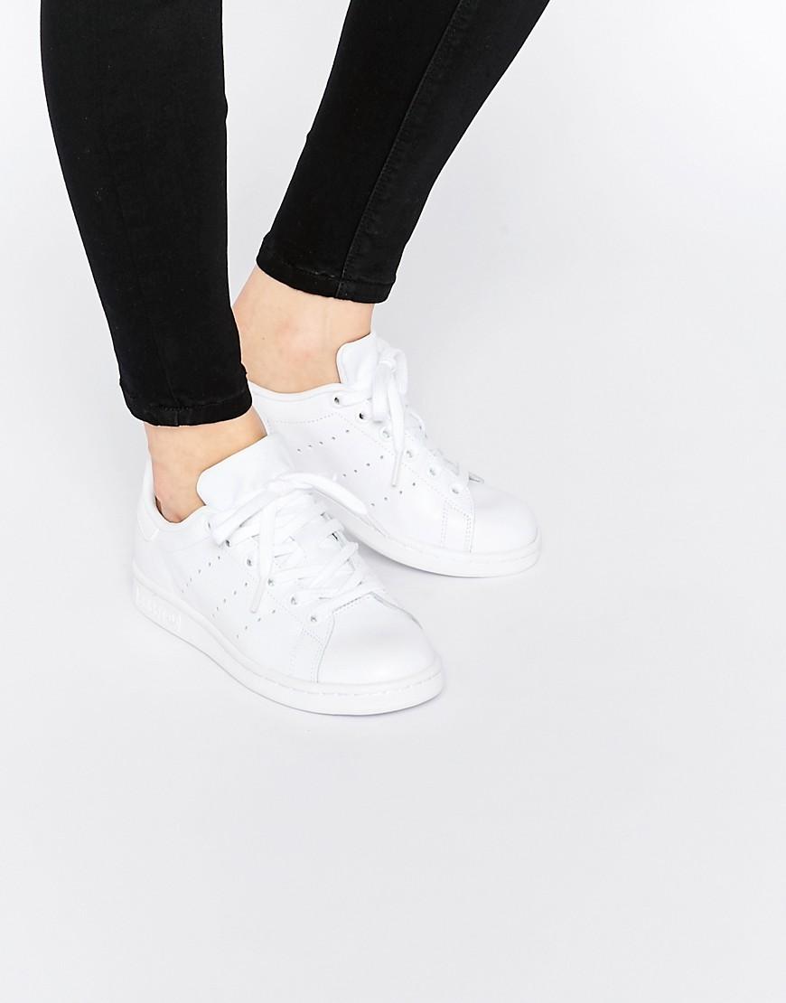 adidas originals stan smith womens white